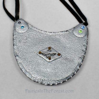 Faux Opal Bib Necklace