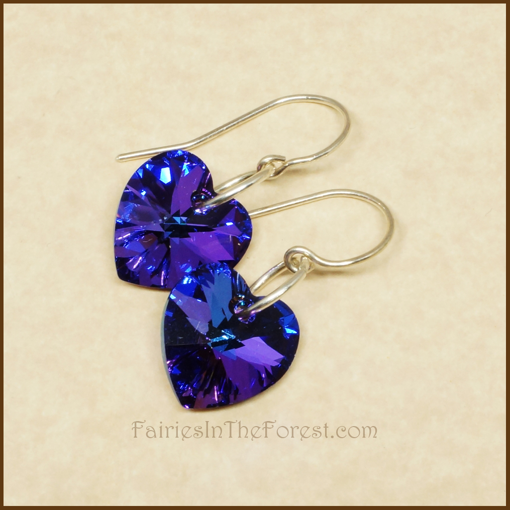 Sterling Silver And Blue Purple